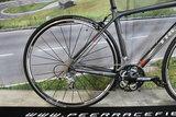 Trek Full carbon Dames,Heren Racefiets Recht stuur Shimano tiagra 47cm ZGAN!!!_