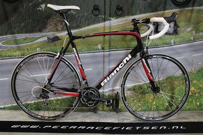 Bianchi Impulso ,Racefiets  60cm Shimano 105 NIEUWSTAAT!!!!!!!