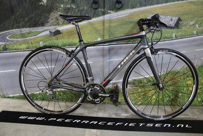 Trek Full carbon Dames,Heren Racefiets Recht stuur Shimano tiagra 47cm ZGAN!!!