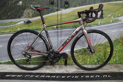 Zannata Z81 DISC Full Carbon shimano Ultegra R8000 Dames, Heren, racefiets 52cm Nieuw!!!!