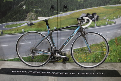 Giant Liv Full Carbon Dames,jeugd Racefiets 48cm Shimano Tiagra ZGAN